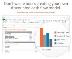 Discounted Cash Flow Dcf Models In Excel Downloads Eloquens