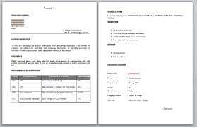 resume of fresher mba resume samples with free download mba freshers resume samples