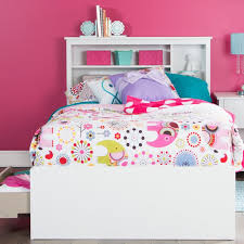 white bookcase storage bed. Simple Storage 11274 White Twin Mates Storage Bed U0026 Bookcase Headboard  Vito Throughout E