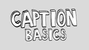 Photo Caption Basics