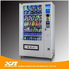 Hot Drink Vending Machines For Sale Cool Hot Sale Coin Operated Combo Drink Food Vending Machine Supplier