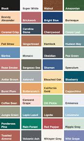 Sadolin Classic Colour Chart Sadolin Exterior Wood Stain Colour Chart Www