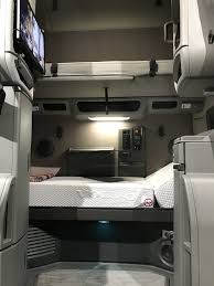 2018 volvo semi. contemporary volvo volvo semi truck sleeping area with inclining bunk in 2018 volvo s