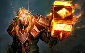 world of warcraft paladin wallpaper for android