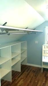 closet rod bracket spacing brackets angled ceiling mount sloped clothes adjule home