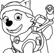 Paw Patrol 37 Coloring Page Free Coloring Pages Online