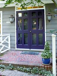 front door colors for beige house50 White House Ideas for Front Doors Shutters and Black Trims