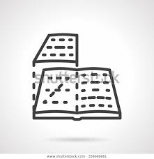 Page Layout Book Magazine Layout Media Stock Vector Royalty Free