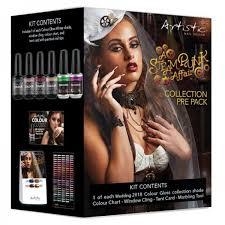Artistic Colour Gloss Steampunk 6 Piece Pre Pack Kk Hair