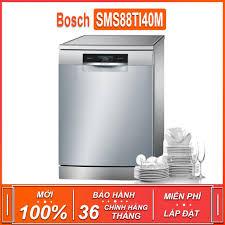 Máy rửa bát độc lập Bosch SMS88TI40M - Seri 8 TGB , dung tích rửa 14 bộ  chén bát ( Xuất sứ Đức - Bảo hành 36 tháng )