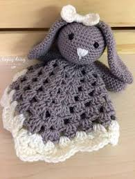 Free Crochet Lovey Pattern Extraordinary Crochet Bunny Lovey Free Pattern Needle Ittle Love Pinterest