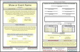 Vendor Registration Form Template 4271501334668 Event