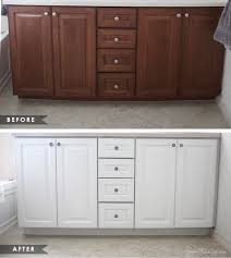 painting bathroom vanity before and after. modern manificent painting bathroom vanity before and after how to paint cabinets without removing doors house mix
