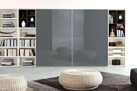 contemporary bookcases with glass doors contemporary bookcases