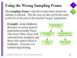 Telephone Directory Sample Sampling Surveys And How To Ask Questions Ppt Download