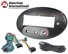 car stereo installation kit car radio stereo cd player dash install mounting trim bezel panel kit harness