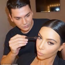 kim kardashian s makeup artist reveals inexpensive beauty s and secrets kim kardashian s makeup artist mario dedivanovic rev