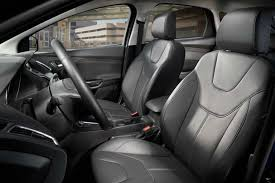 leather trimmed seats are standard on titanium