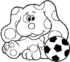 Small Picture Blues Clues Coloring Pages Wecoloringpage