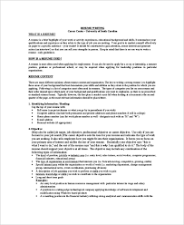 7 Sample Job Objectives Sample Templates