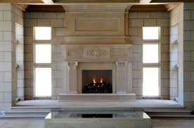 Pleasant And Intriguing Faux Limestone Fireplace Mantels Intended Limestone Fireplace Mantels