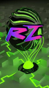 Rz as a ART Name Wallpaper!
