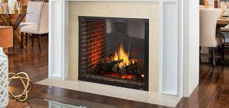 marquis ii see through direct vent gas fireplace