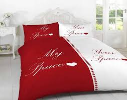 3d my space red bedding set