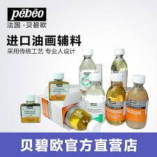 bailey blue europe imported painting material cleaners poppy seed oil decoloring agent to protect oil additives the oil painting supplies