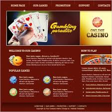 Free Online Template Online Casino Template Free Website Templates In Css Html Js
