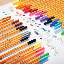 Stabilo Point 88 Fineliner Illustration Pens Extra Fine Product Design Art Marker Graphic 0 4 Mm 10 20 Color Plastic Case Set