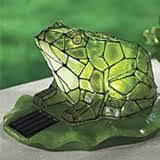 Sunny Solar Light GardenFrog Solar Light, Solar Powered Frogs