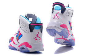 jordan shoes for girls 2014 black and white. girls air jordan 6 retro gs white black pink flower leaf print for sale-2 shoes 2014 and