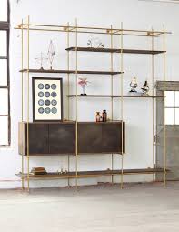 Shelves, Shelving System Tier Shelving Units With Wood Display Shelves  Pottery Barn In The Outdoor ...