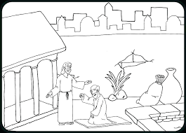 Tabernacle Coloring Pages Building Tabernacle Coloring Page Pages