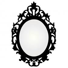 Frame clipart antique mirror Pencil and in color frame clipart