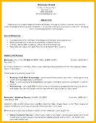 bartender objective bartender resume career objective on for format skills this is