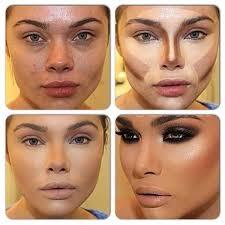 heart shape face makeup contouring tutorial
