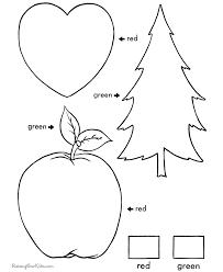 Sight Words Worksheets Colors Worksheets For Preschoolers Free ...