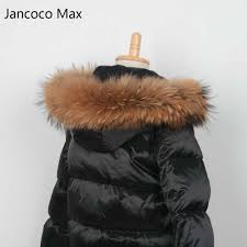 real raccoon fur 2019 winter jacket child suit jacket pant twinset boy girl ski suits children down outerwear parka