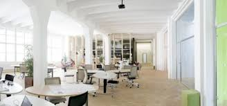 bright office. This Office Space Was Designed By Radek Lampa. As You Can See, It Feels Very Open And Bright. The White Walls Overall Minimalist Style Chosen For Bright