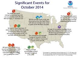 National Climate Report - October 2014 | State of the Climate ...