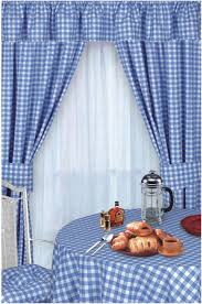 Yellow Gingham Kitchen Curtains Kitchen Fascinating Kitchen Curtains For Country Kitchen