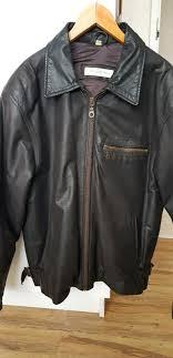 men s leather jacket excellent condition