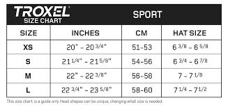 Ovation Helmet Size Chart Sport