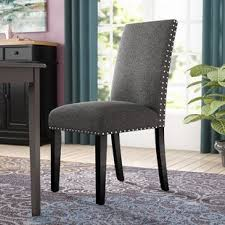 olive upholstered dining chair