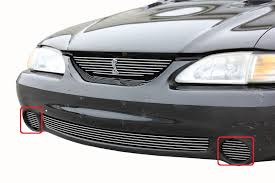 1994 Ford Mustang Cobra 2Pc Billet Grille Kit With Cobra Badge