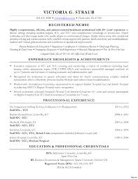 registered nurse sample resumes ophthalmic nurse sample resume for nursing student cover letter