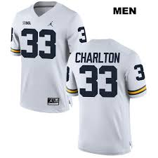 Michigan 33 White Jordan Football Taco College No Charlton Jersey Authentic Stitched Mens Wolverines Demaryius Thomas Says He Feels 'Better' Now Than Before Achilles Injury