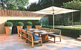 stylish outdoor furniture. Outdoor Dining Table And Love Seats By Luciano Giubbilei Stylish Furniture L